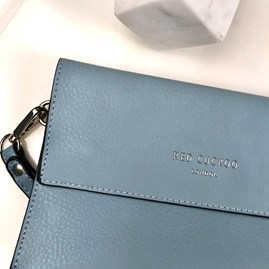 Clutch Bag In Blue