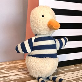 Jellycat Bredita Duck Chime Soft Toy