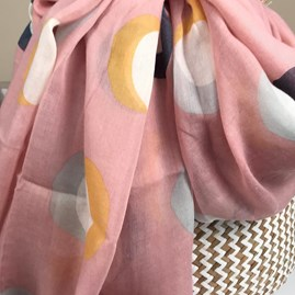 Eclipse Scarf In Pink