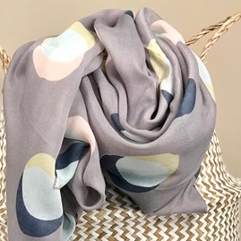 Eclipse Scarf In Grey