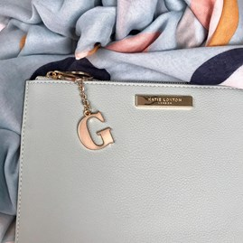 Katie Loxton Personalised Pebble Pouch In Mint