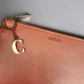 Katie Loxton Personalised 'Ooh La La' Secret Message Clutch