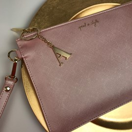 Katie Loxton Personalised 'Spend In Style' Secret Message Clutch