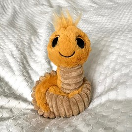 Jellycat Wiggly Worm Yellow Soft Toy