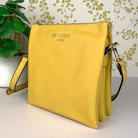 Tall Cross Body Bag In Yellow