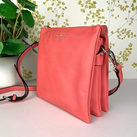 Tall Cross Body Bag In Coral