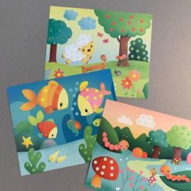 Pom Pom Cards