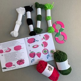Make Your Own Woollen Fruit Pom Poms