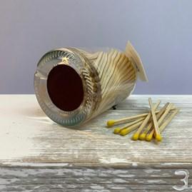 Log Burner Long Matches In A Jar