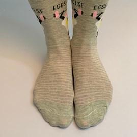 'Eggs-ercise' Socks