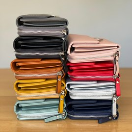 Clutch Bag in Blue