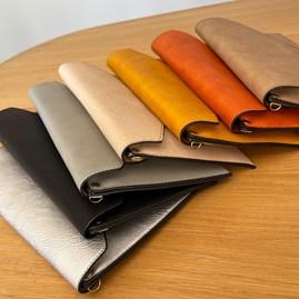 Cross Body Clutch Bag in Khaki