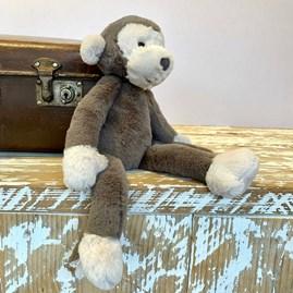 Jellycat Brodie Monkey Small Soft Toy