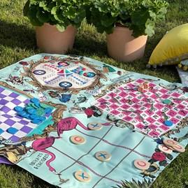 Alice In Wonderland Party Games Mat