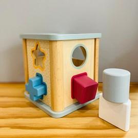 Wooden Shape Sorter Toy