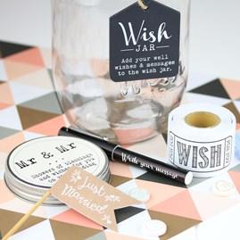 Mr And Mr Wish Jar