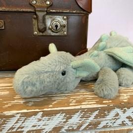 Jellycat Sage Dragon Little Soft Toy
