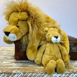 Jellycat Bashful Lion Medium Soft Toy