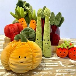 Jellycat Vivacious Vegetable Pumpkin Soft Toy