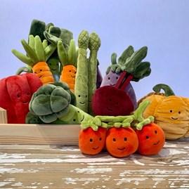 Jellycat Vivacious Vegetable Asparagus Soft Toy