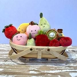 Jellycat Fabulous Fruit Peach Soft Toy