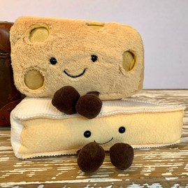 Jellycat Amuseable Brie Soft Toy