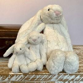 Jellycat Bashful Cream Bunny Baby Soft Toy