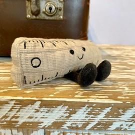 Jellycat Smart Stationery Ruler Small Soft Toy