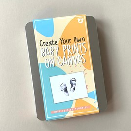 Create Your Own Baby Prints On Canvas