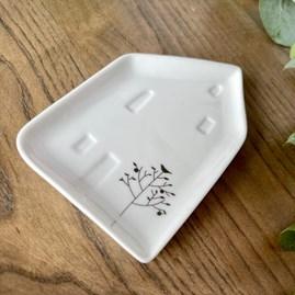 Porcelain House Shaped Little Dish