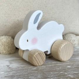 Bambino Wooden Push Toy Rabbit