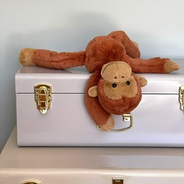 Jellycat Monkey Business Pongo Orangutan Soft Toy