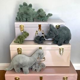 Jellycat Fossilly T-Rex Mini Soft Toy