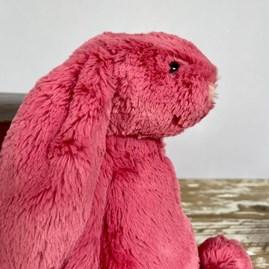 Jellycat Bashful Cerise Bunny Medium Soft Toy