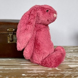 Jellycat Bashful Cerise Bunny Medium Soft Toy