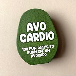 100 Avo Cardio 'Burn Off An Avocado' Cards