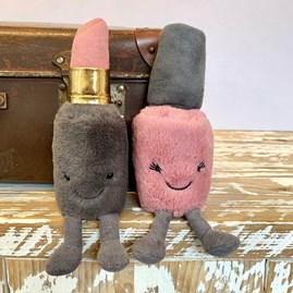 Jellycat Kooky Cosmetic Lipstick Soft Toy