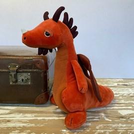 Jellycat Paprika Dragon Soft Toy