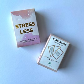100 'Stress Less' Cards