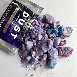 Space Dust Raspberry Scented Glitter Bath Dust