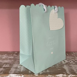 'Hello Little One' Blue Large Gift Bag