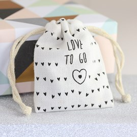 Pocket Porcelain 'Heart To Go' Sentiment