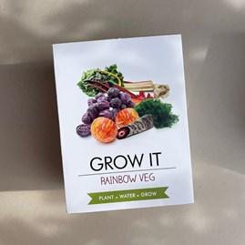 Grow It Rainbow Veg Gift Box