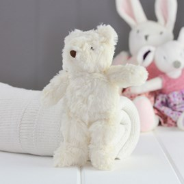 Mini Cream Bear Newborn Soft Toy