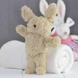 Mini Beige Bunny Newborn Soft Toy