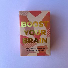 100 'Boost Your Brain' Cards