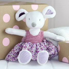 Cuddly Mouse Newborn Soft Toy