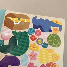 Children's 'Mermaid World' Sticker Activity Set