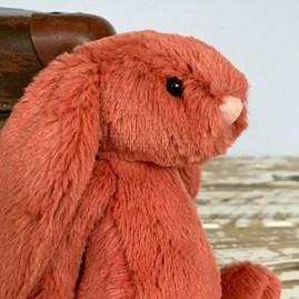 Jellycat Bashful Cinnamon Bunny Small Soft Toy