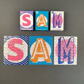 Mini Letter Jigsaw Puzzle